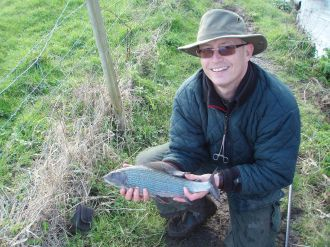 2lb 6oz Hants Avon Grayling