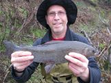 Kevin's 2lb 10oz Grayling