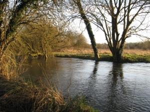 A flooded Kennet