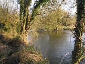 A high River Kennet