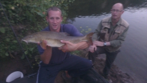 Alex's 9lb 1oz barbel