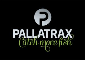 Pallatrax Catch more fish - Logo on black