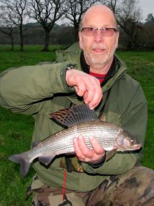 Kevin's 2lb 4oz Grayling