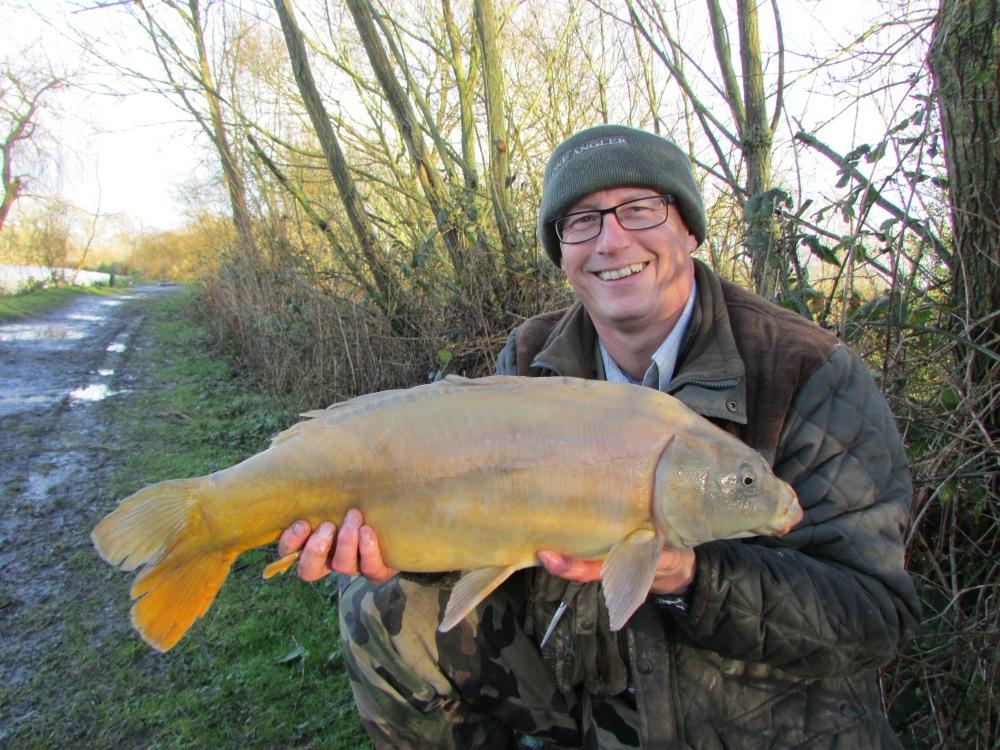 Fishing at Hartly Lands Farm Fishery
