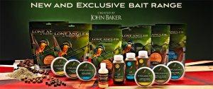 John Baker's Range of Lone Angler Baits